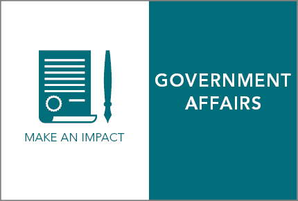 AORN members can make an impact with information from Government Affairs.